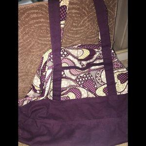 💥Final Price💥 Large purple design material tote